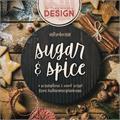 Illustration of font Sugar & Spice