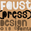 Illustration of font Faustpress