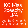 Illustration of font KG Miss Speechy IPA