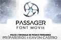 Illustration of font Passager