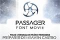 Illustration of font Passager