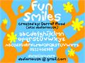 Illustration of font Fun Smiles