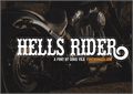 Illustration of font Hells Rider
