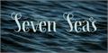Illustration of font Seven Seas DEMO