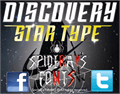 Illustration of font DISCOVERY STAR TYPE