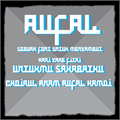 Illustration of font Aufal