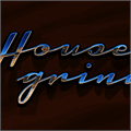 Illustration of font Housegrind Personal Use Only