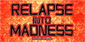 Illustration of font Relapse Into Madness