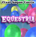 Illustration of font Equestria