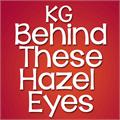 Illustration of font KG Behind These Hazel Eyes