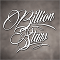 Illustration of font Billion Stars Personal Use