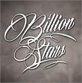 Illustration of font Billion Stars Personal Use