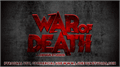 Illustration of font War of Death
