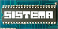 Illustration of font Sistema