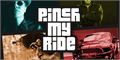 Illustration of font Pinch My Ride