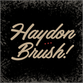 Illustration of font Haydon Brush PERSONAL USE