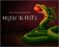 Illustration of font Hojas de plata