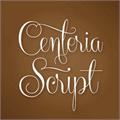 Illustration of font Centeria Script Demo