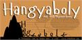 Illustration of font Hangyaboly
