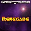 Illustration of font Renegade