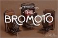 Illustration of font Bromoto