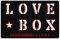 Illustration of font LOVE-BOX