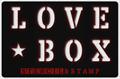 Illustration of font LOVE-BOX