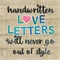 Illustration of font Happy Snail Mail DEMO