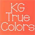 Illustration of font KG True Colors