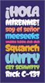Illustration of font Graffismo