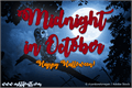 Illustration of font Midnight in October