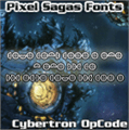 Illustration of font Cybertron OpCode