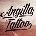 Illustration of font Angilla Tattoo Personal Use