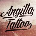 Illustration of font Angilla Tattoo Personal Use