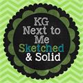 Illustration of font KG Next to Me