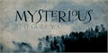 Illustration of font DK Mysterious