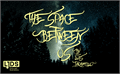 Illustration of font The space between Us