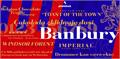 Illustration of font Banbury