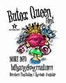 Illustration of font BUTOX QUEEN