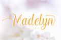Illustration of font Madelyn