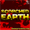 Illustration of font Scorched Earth