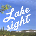Illustration of font Lakesight Personal Use Only