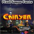 Illustration of font Chinyen
