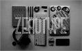Illustration of font Zerotype