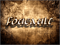Illustration of font Foucault