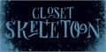 Illustration of font DK Closet Skeleton