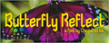 Illustration of font Butterfly Reflect