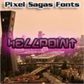 Illustration of font Hellpoint