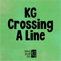 Illustration of font KG Crossing A Line