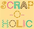 Illustration of font ScrapOHolic